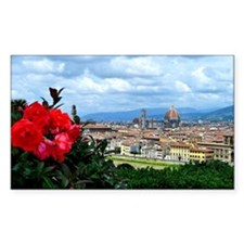 Florence, Italy beautiful land Decal