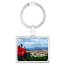 Florence, Italy beautiful lands Landscape Keychain