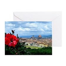 Florence, Italy beautiful landscape Greeting Card