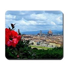 Florence, Italy beautiful landscape Mousepad