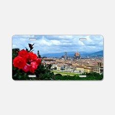 Florence, Italy beautiful l Aluminum License Plate