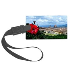 Florence, Italy beautiful landsc Luggage Tag
