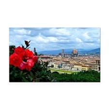 Florence, Italy beautiful lan Rectangle Car Magnet