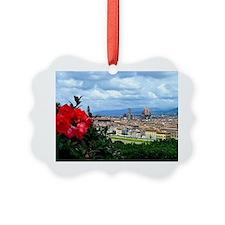 Florence, Italy beautiful landsca Ornament