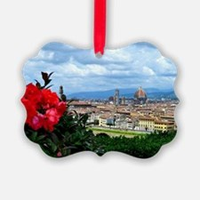Florence, Italy beautiful landsca Ornament