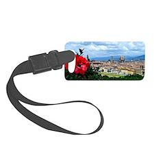 Florence, Italy beautiful landsc Luggage Tag