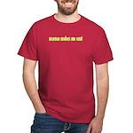 Science Makes Me Cool Dark T-Shirt