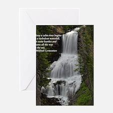 Waterfall 1.jpg Greeting Card