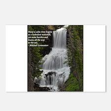Waterfall 1.jpg Postcards (Package of 8)