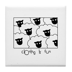 Dolly the Sheep Tile Coaster