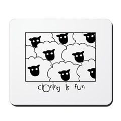 Dolly the Sheep Mousepad