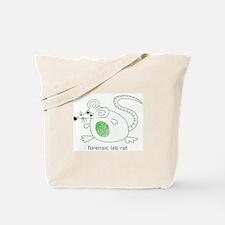 Forensic Lab Rat Tote Bag
