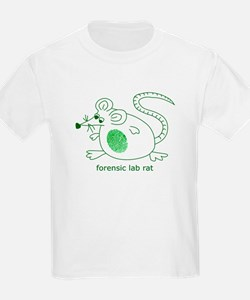 Forensic Lab Rat Kids T-Shirt
