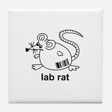 Lab Rat Tile Coaster