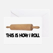 How I Roll Baker's Greeting Cards (Pk of 10)