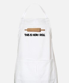 How I Roll Baker's BBQ Apron
