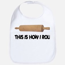 How I Roll Baker's Bib