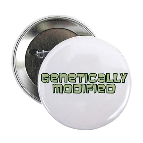 """Genetically Modified 2.25"""" Button (10 pack)"""