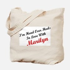 In Love with Marilyn Tote Bag