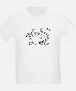 Barcode Rat Kids T-Shirt