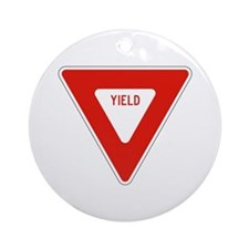 Yield - USA Ornament (Round)