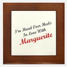 In Love with Marguerite Framed Tile