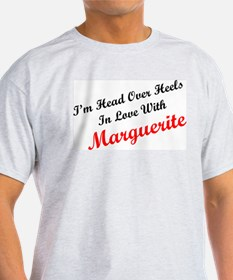 In Love with Marguerite Ash Grey T-Shirt