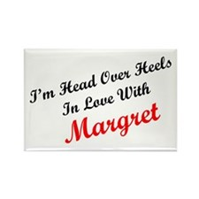 In Love with Margret Rectangle Magnet
