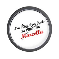 In Love with Marcella Wall Clock