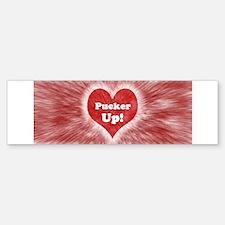 Pucker Up! Bumper Bumper Bumper Sticker