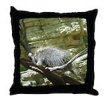 porcupine 2 Throw Pillow
