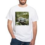 porcupine 2 White T-Shirt