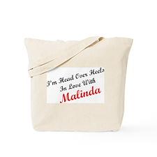 In Love with Malinda Tote Bag