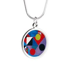 Cool Sonia Silver Round Necklace