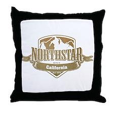 Northstar California Ski Resort 4 Throw Pillow