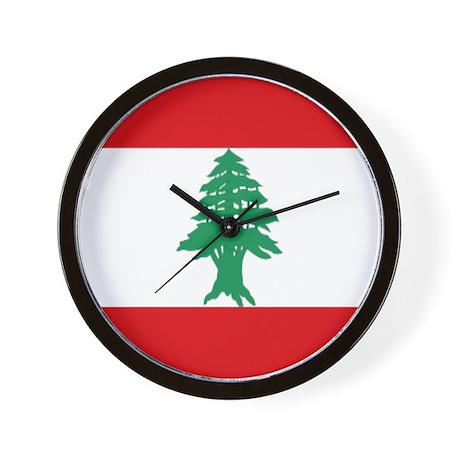 Lebanon Wall Clock