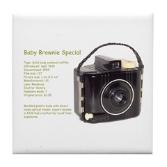 Baby Brownie Special Tile Coaster