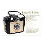 Brownie Bullet Postcards (Package of 8)