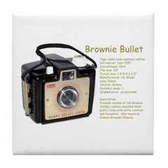 Brownie Bullet Tile Coaster