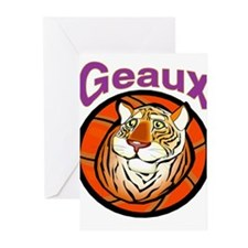 Geaux Tigers! Greeting Cards (Pk of 10)
