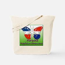 Mariposa Republica Dominicana Tote Bag