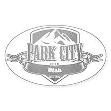 Park City Utah Ski Resort 5 Decal
