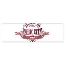 Park City Utah Ski Resort 2 Bumper Bumper Sticker