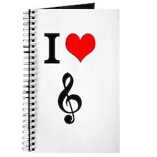I heart music Journal