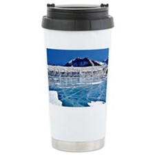 South Pole, Antartica Travel Mug