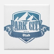 Park City Utah Ski Resort 1 Tile Coaster