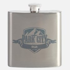 Park City Utah Ski Resort 1 Flask