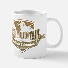 Red Mountain British Columbia Ski Resort 4 Mugs