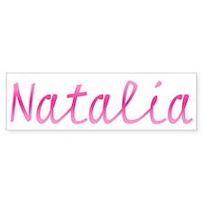 Natalia Bumper Bumper Sticker