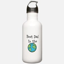 Best Dad in the world Water Bottle